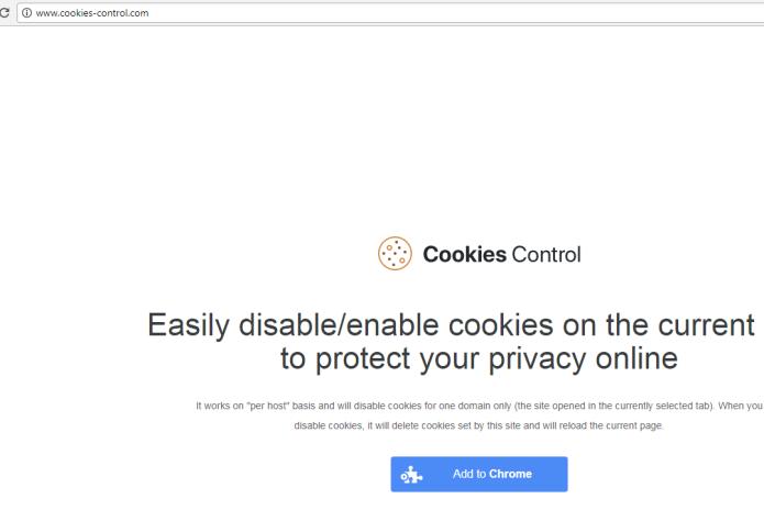 remove Cookies Control