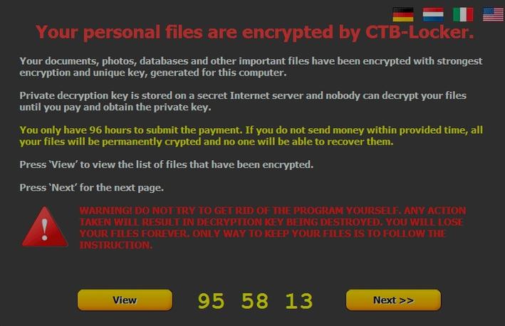 remove CTB-Locker