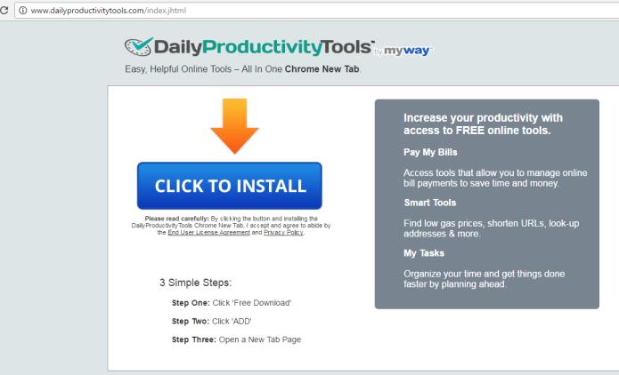remove DailyProductivityTools