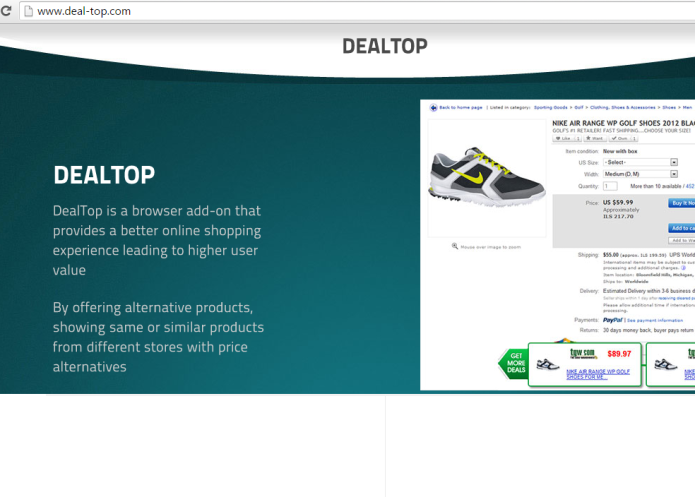 remove dealtop