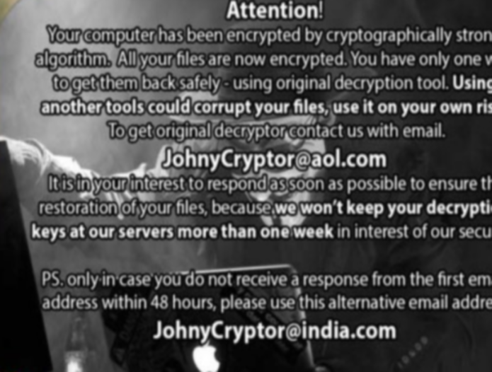 remove JohnyCryptor