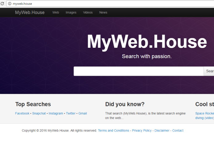 remove Myweb.house