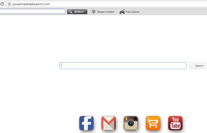 remove Powermediatabsearch.com