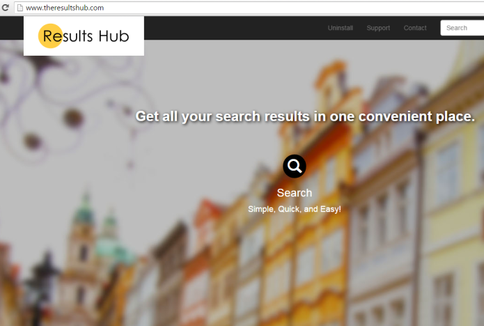 remove results hub