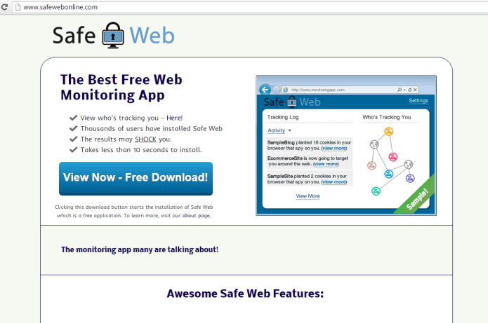 remove safe web