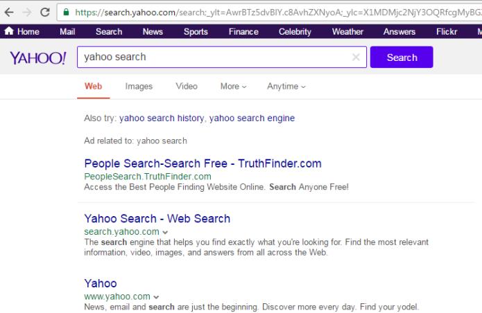 remove Search.yahoo.com