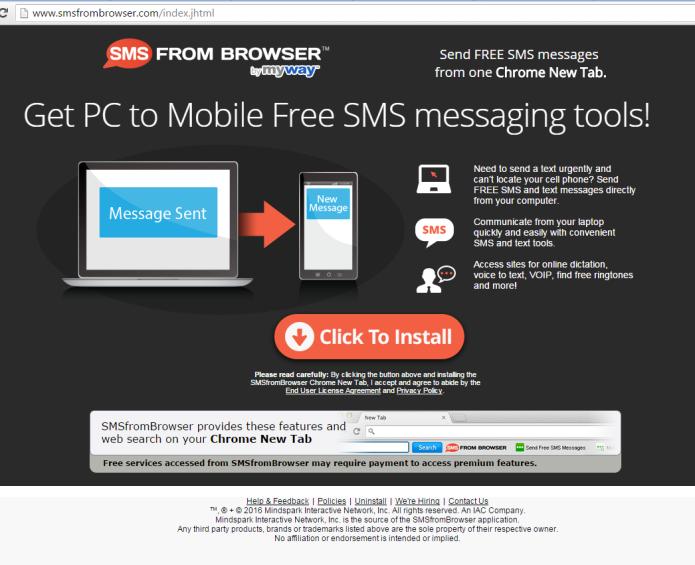 eliminar sms del navegador