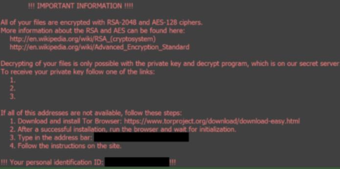 remove .zzzzz ransomware