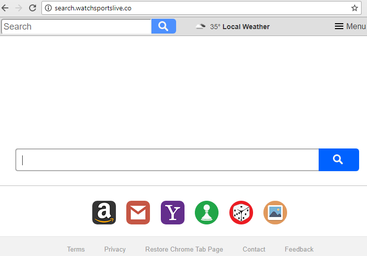 remove Search.watchsportslive.co toolbar