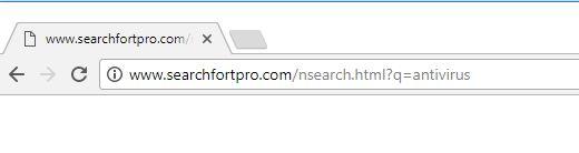 remove Searchfortpro.com hijacker