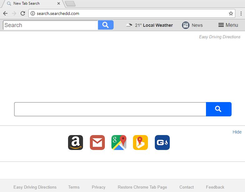 remove Search.searchedd.com toolbar