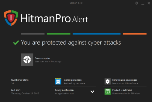 HitmanPro.Alert with CryptoGuard