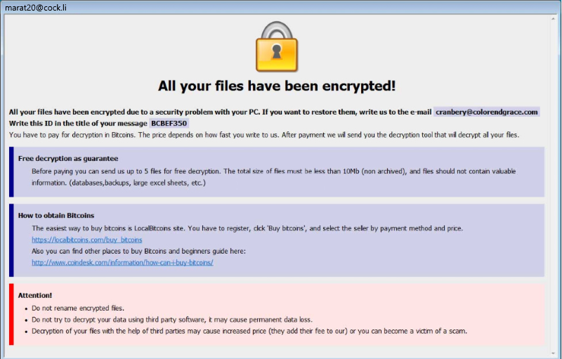 How to remove Arrow ransomware and decrypt  arrow files