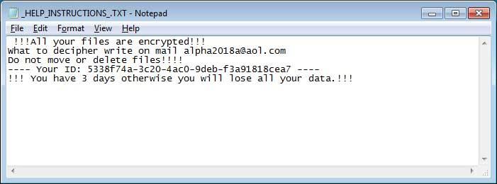 decrypt .MOLE66