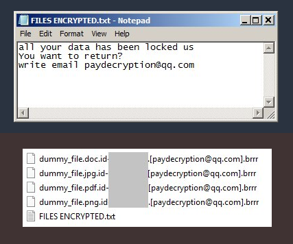 retirer Paydecryption@qq.com ransomware