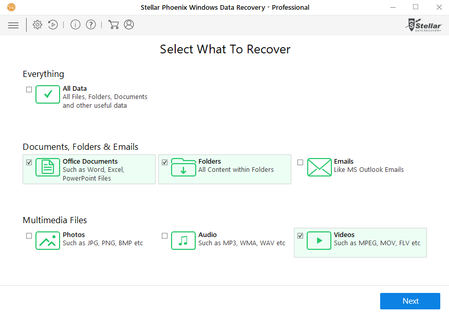 restore encrypted files