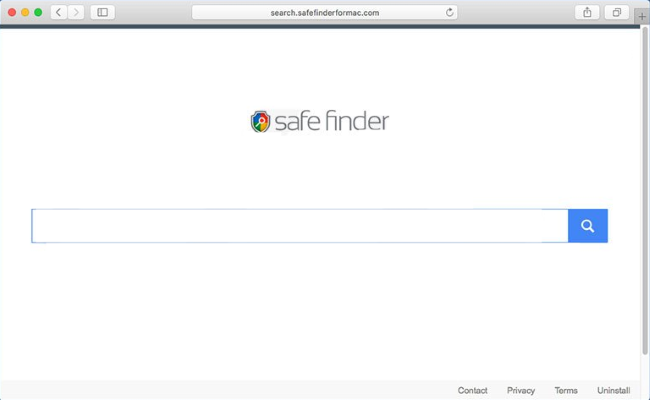 remove Safe Finder hijacker