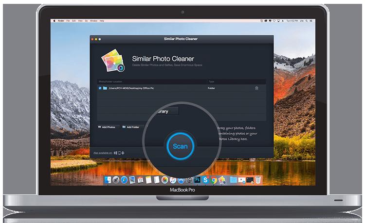 Entfernen Sie Similar Photo Cleaner vom MacBook