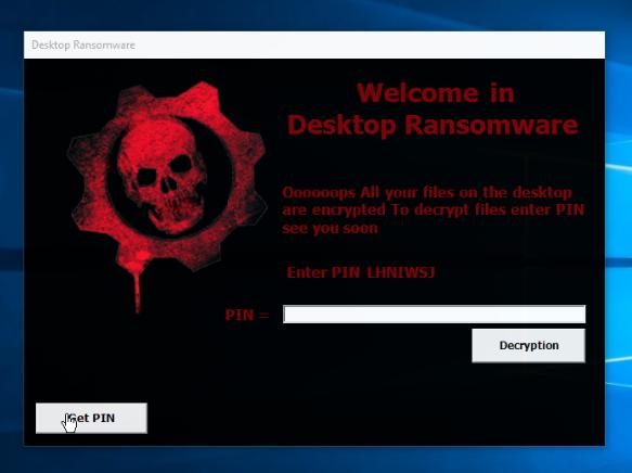 remove Desktop ransomware