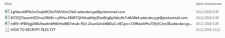 remove Aztec Ransomware