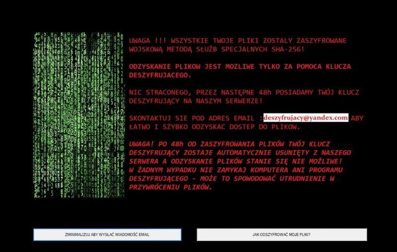 remove FORMA ransomware