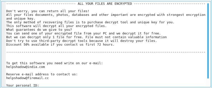 remove Djvu ransomware