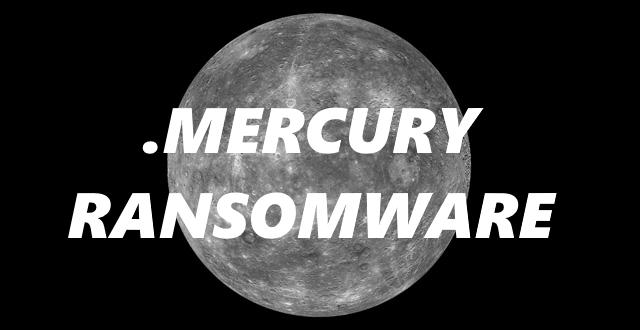 remove Mercury ransomware