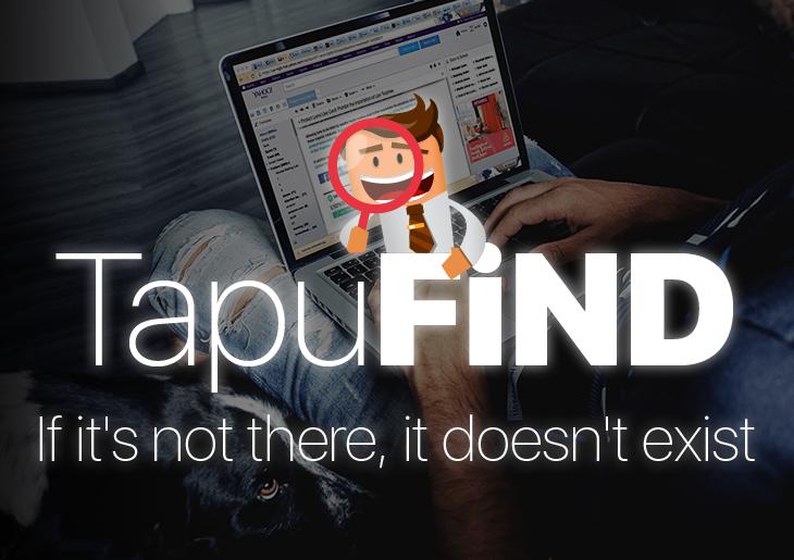 remove Tapufind