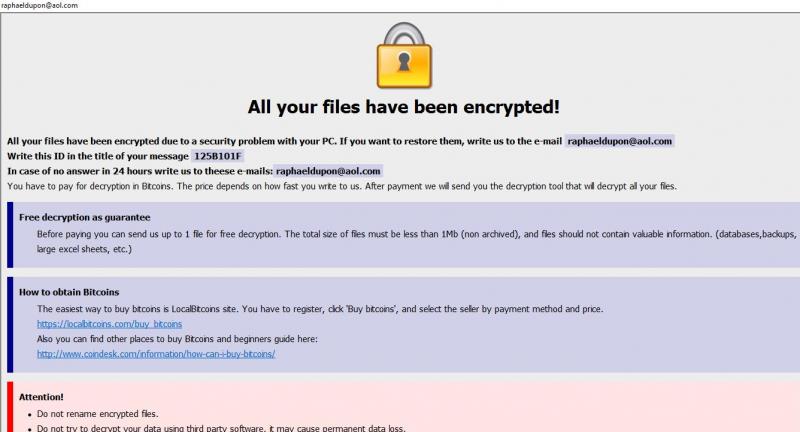 remover Harma ransomware