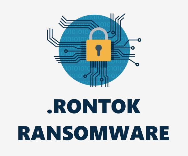 remove Rontok Ransomware