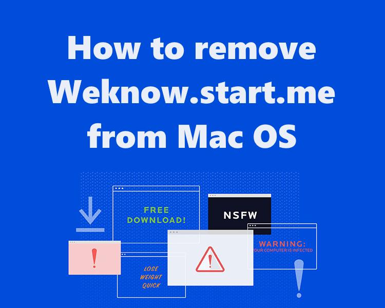 remove Weknow.start.me
