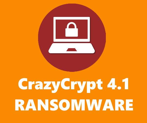 remove CrazyCrypt 4.1 ransomware