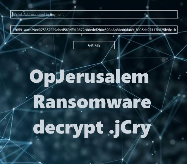 remove OpJerusalem Ransomware