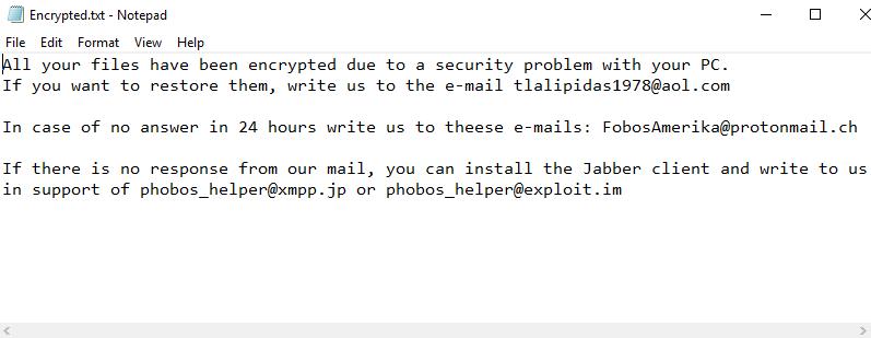 remove Frendi ransomware
