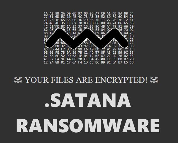 remove SATANA ransomware