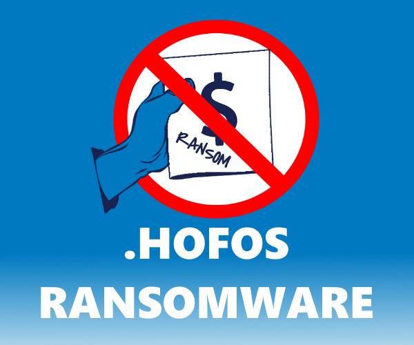 remove Hofos ransomware