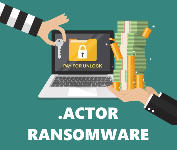 remove Actor ransomware