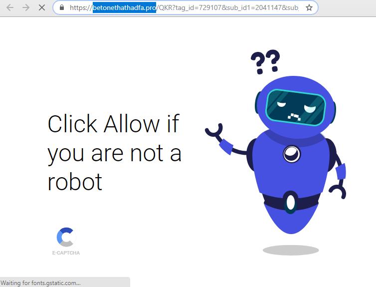 remove Betonethathadfa.pro