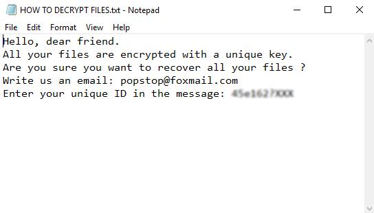 remove CAGO ransomware