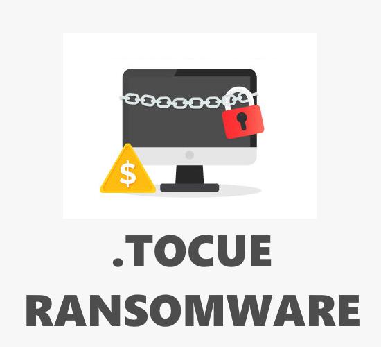 remove Tocue ransomware