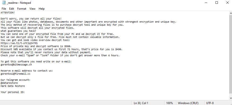 remove Access ransomware