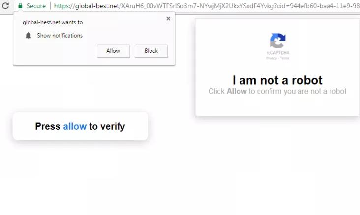 remove Global-best.net hijacker