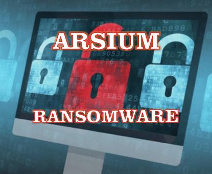 remove Arsium ransomware