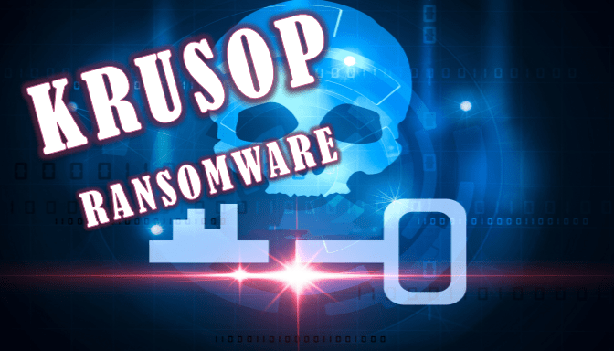 remover Krusop ransomware