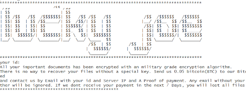 remove LuckyJoe ransomware