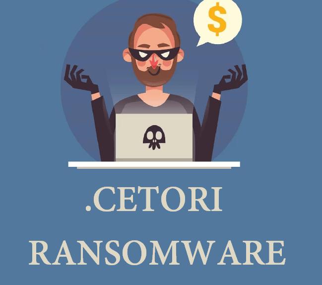 remove Cetori ransomware