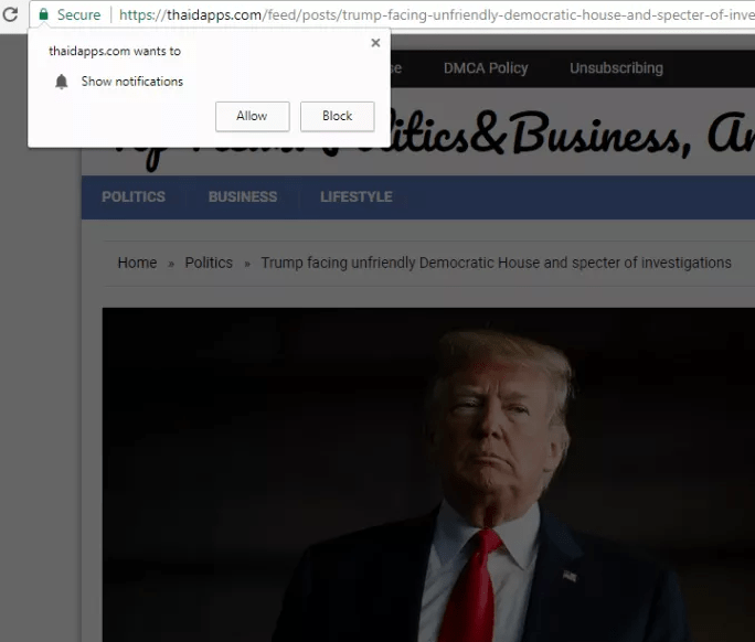 remove Thaidapps.com