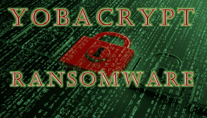 remove YobaCrypt ransomware