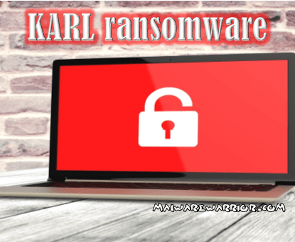 remove Karl ransomware