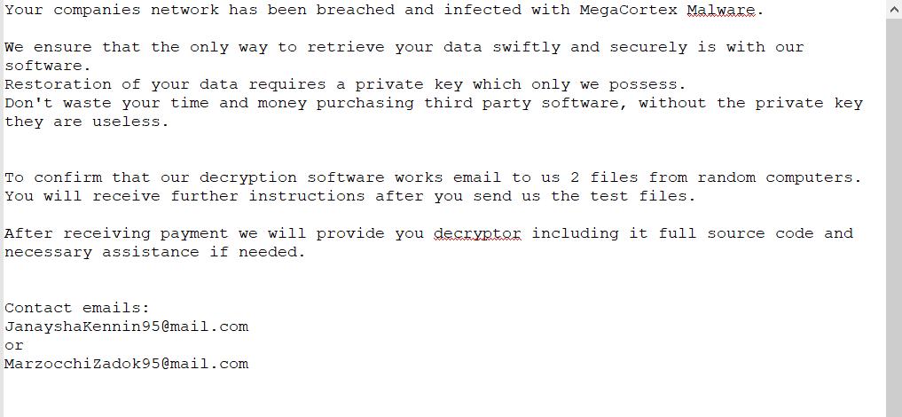 remove Megac0rtx ransomware
